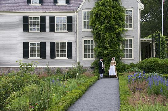 John and Abigail Adams At Peacefield