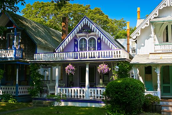 Gingerbread Cottages, Martha's Vineyard.