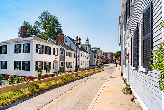 Historic homes in Plymouth, Massachusetts
